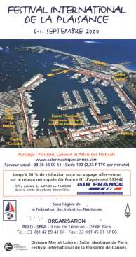 Flyer CCI Port de Cannes