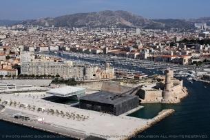 Le vieux port et le Mucem
