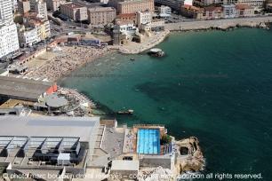 La plage des Catalans