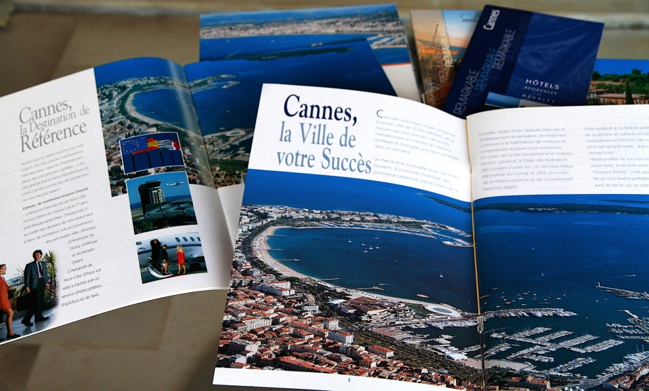 Brochures de promotion ville de Cannes